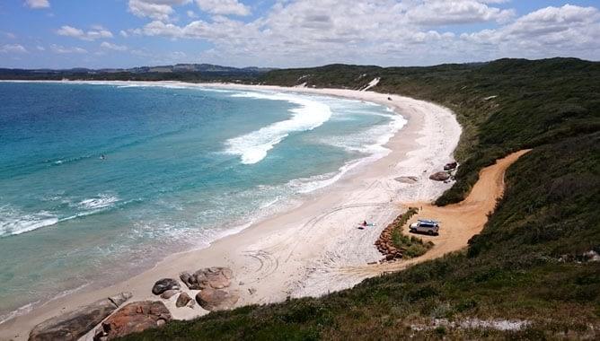 Sunday 31st January – Muttonbird Beach