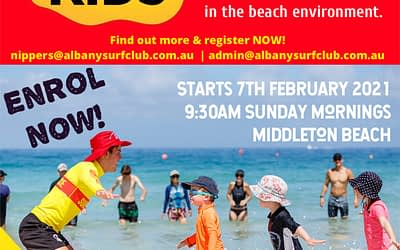 Surf Kids Starts 7th February