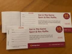 Get in the Game – Bendigo Bank Raffle