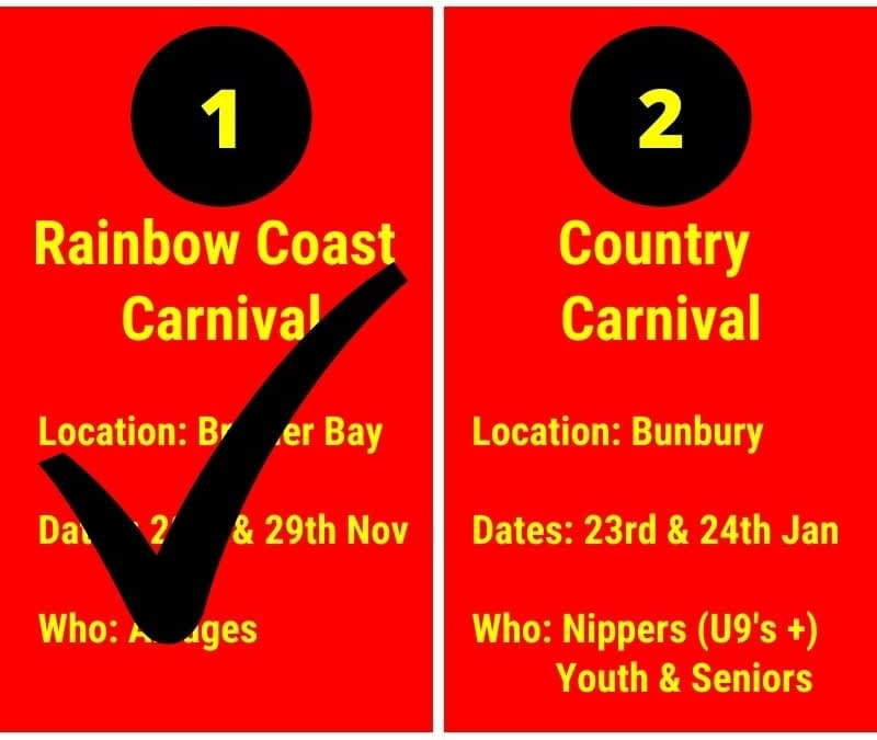 Carnivals and Competitions