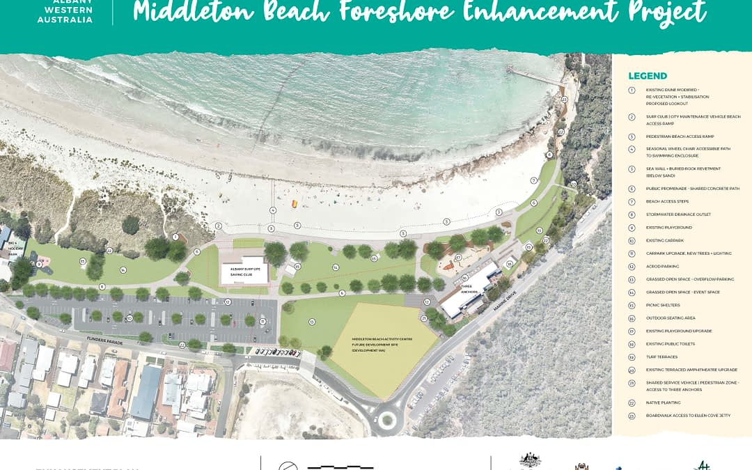 Middleton Beach Foreshore Enhancement Project: January Update
